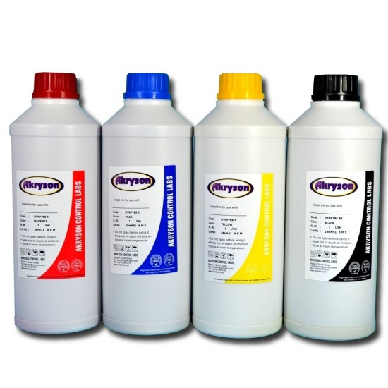 Brother DCP-135C Tinta para Recarga de Cartucho Pack 4 Botellas de Litro