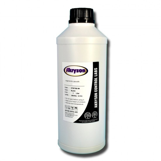 Botella Tinta Negra para Lexmark Recarga Cartuchos Litro