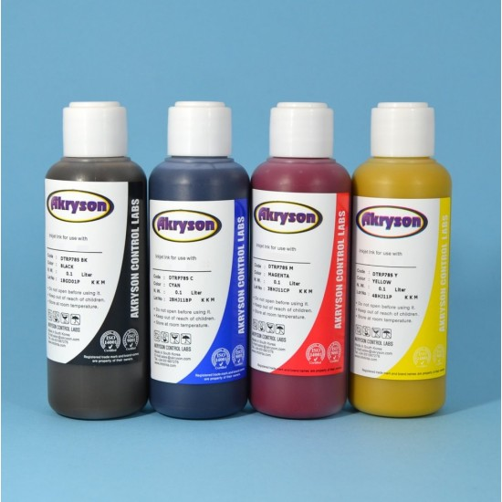 Brother DCP-770CW Tinta para Recarga de Cartucho Pack 4 Botellas de 100ml