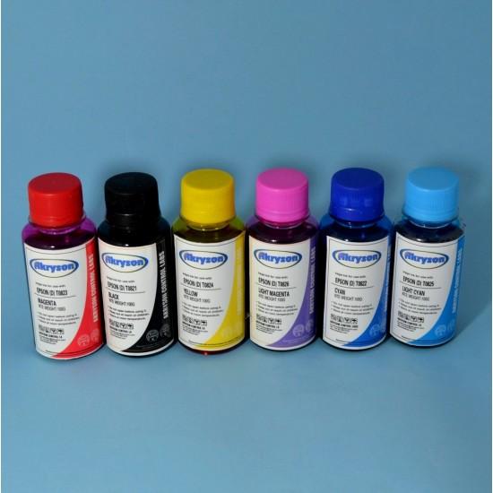 Compatible Epson RX620 Pack 6 x 100ml Tinta para Recarga