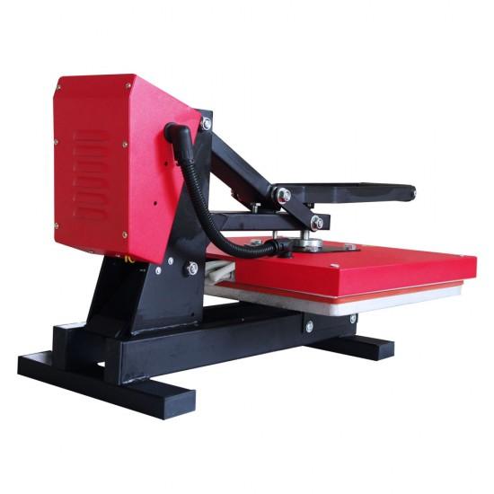 Prensa de Calor Plancha Plana para Vinilo Textil y Sublimación de 38x38cm Alta Presión