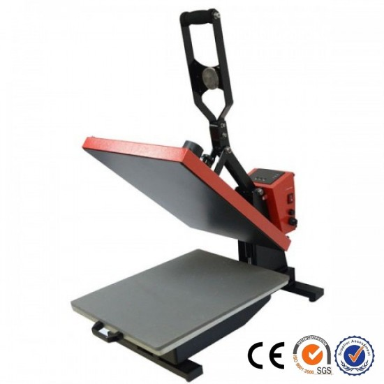Prensa de Calor Plancha Plana para Vinilo Textil y Sublimación de 40x50cm Manual de base deslizable.