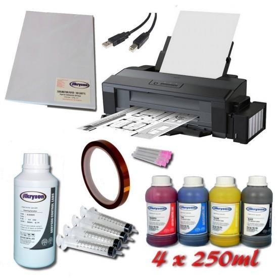 Impresora para Sublimación Epson EcoTank ET-14000 A3 Pack + Tinta de Sublimación + Papel