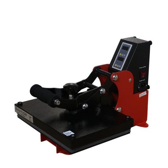 Prensa Plancha de Sublimación A4 Manual para Camisetas y Vinilo Textil 23x33cm Aprobado CE