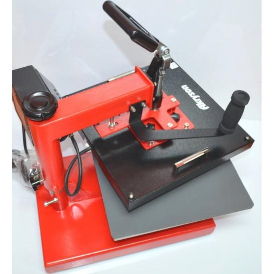 Prensa Térmica Plancha para Sublimación y Vinilo Textil de 38x38cm Aprobado CE
