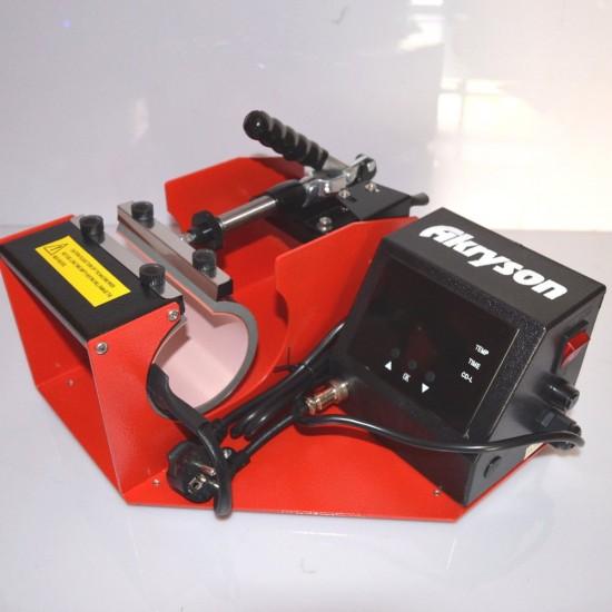 Pack Completo Sublimación Epson WF-2010W + Prensa para Tazas con Calentador Recto de 6 - 10 onzas.