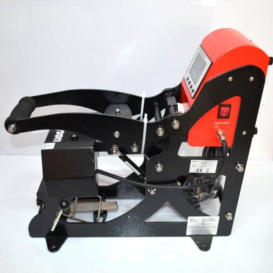 Prensa Térmica para Sublimación de Gorras Apertura Automática + 2 Calentadores