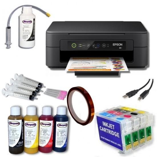 Pack Impresora Epson XP-2100 + Tintas de Sublimación + Cartuchos Autoreseteables