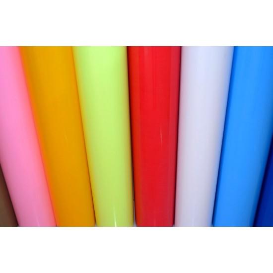 Vinilo Textil de Corte Semibrillante para Transferencia en Caliente 1Metro Lineal FIRSTMARK™