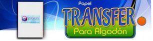 Papel transfer algodón