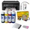 Pack Impresora Epson WF-2510WF + Tintas Pigmentadas + CISS Sistema Continuo de Tinta