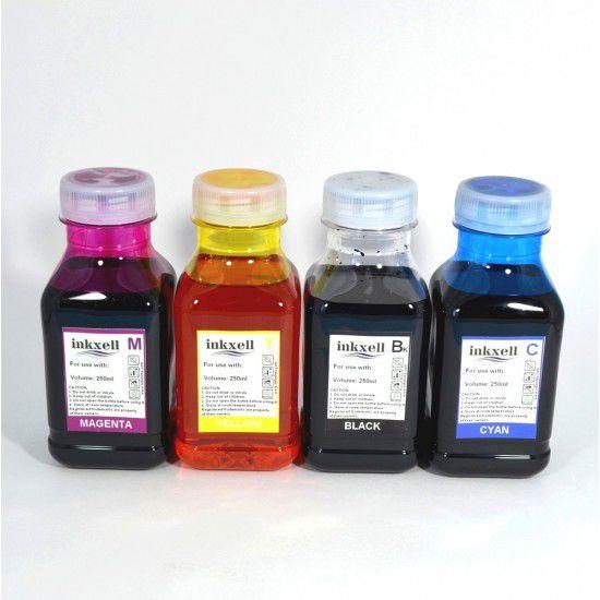 Tinta para Recarga Epson Pack 4 Botellas Universal Linea Economica 250ml