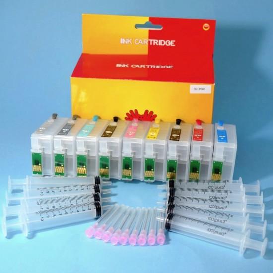 Compatible Epson SureColor SC-P600 Plotter Pack Cartuchos Recargables