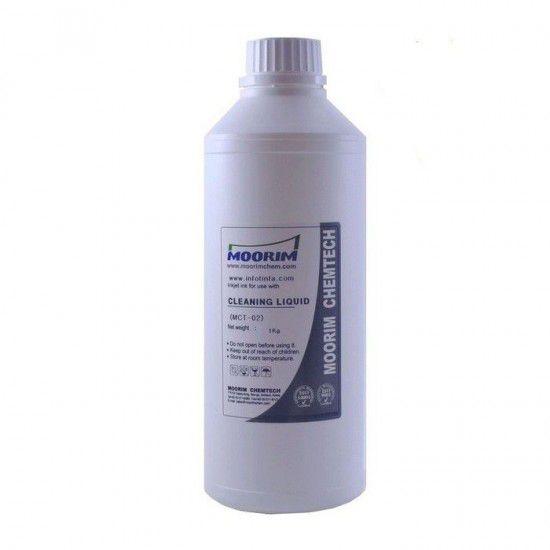 Liquido Limpiador de Cabezales para Plotters Piezo 1 Litro