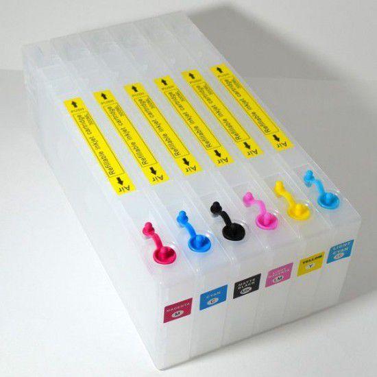 Pack 6 Cartuchos Recargables para Roland SC-545