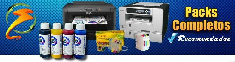 Pack Impresoras mas Tintas