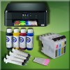 Pack Impresora Brother DCP-J562DW A4 Cartuchos Recargables mas Tintas
