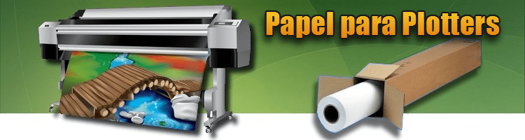Rollo Papel Plotter
