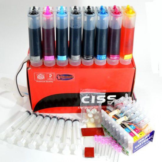 CISS de Tinta Continua para Impresora Epson R2880 Recargado