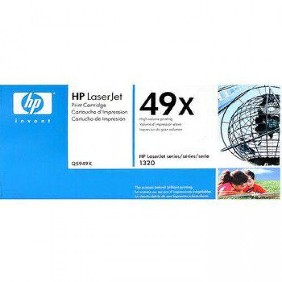 Hp LaserJet 1320 Toner Negro Hp 49X Original Q5949X