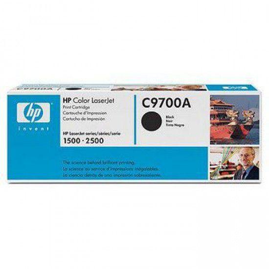 Hp LaserJet 1500 Toner Negro Hp C9700A Original C9700A