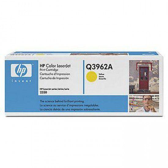 Hp LaserJet 2550 Toner Amarillo Hp Q3962A Original Q3962A