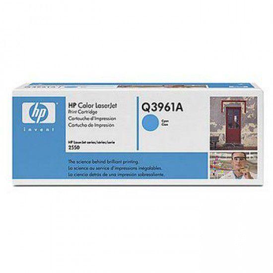 Hp LaserJet 2550Ln Toner Cyan Hp Q3961A Original Q3961A