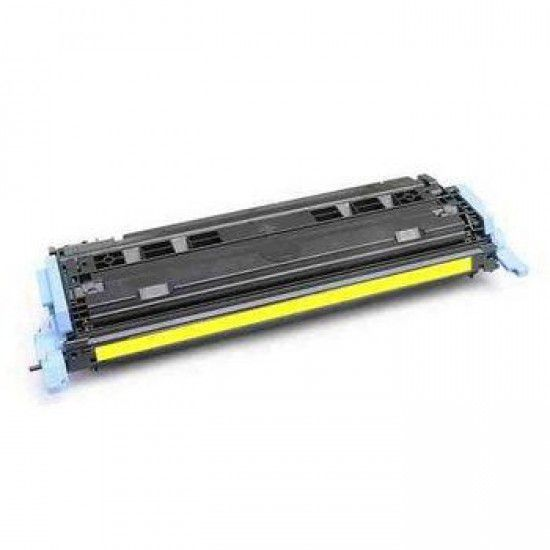 Hp LaserJet 2605 Toner Reciclado Amarillo Hp 124A 2A