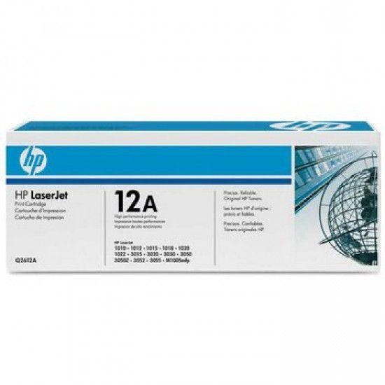 Hp LaserJet 3055 Toner Negro Hp 12A Original Q2612A