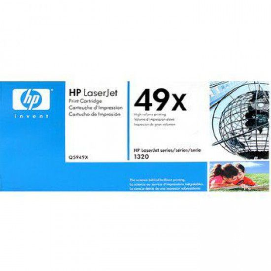 Hp LaserJet 3390 Toner Negro Hp 49X Original Q5949X