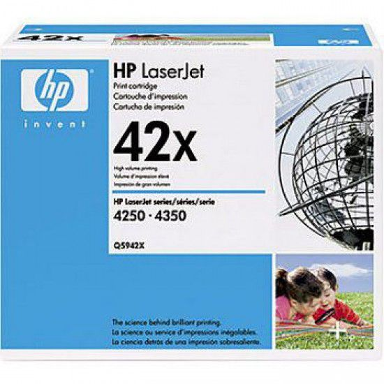Hp LaserJet 4250dtn Toner Negro Hp 42X Original Q5942X