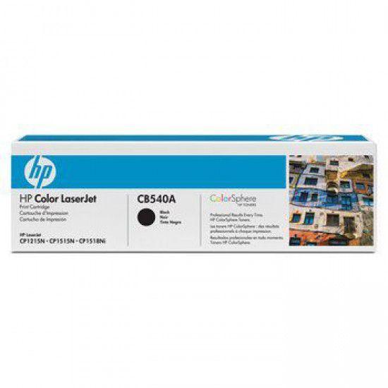 Hp LaserJet CM1312 Toner Negro Hp CB540A Original CB540A