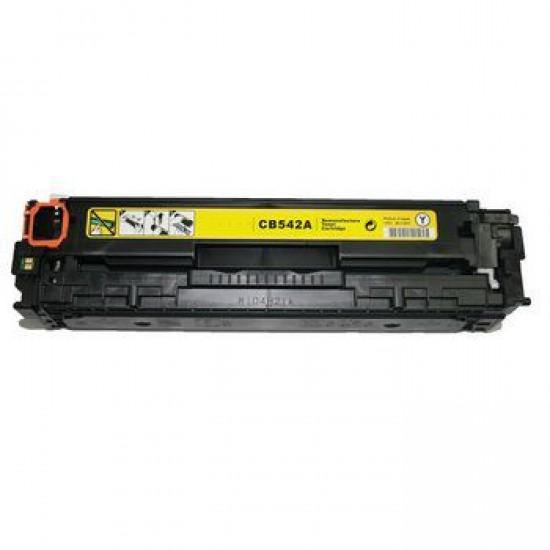Hp LaserJet CM1312nfi Toner Reciclado Amarillo Hp CB542A CB542A