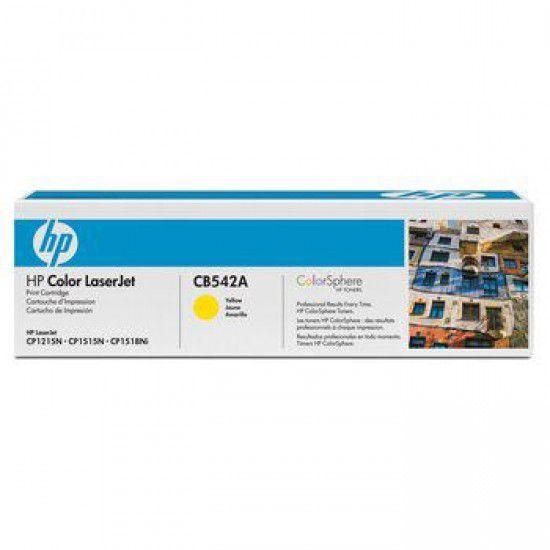 Hp LaserJet CP1217 Toner Amarillo Hp CB542A Original CB542A