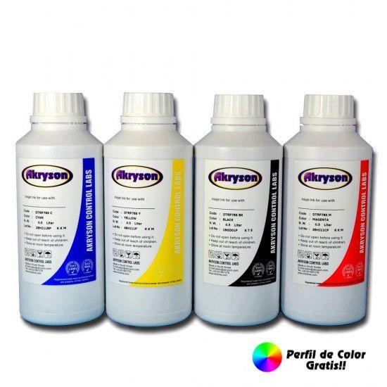Tinta de Sublimación Pack 4 Botellas 500ml para impresoras Epson – Todos los modelos