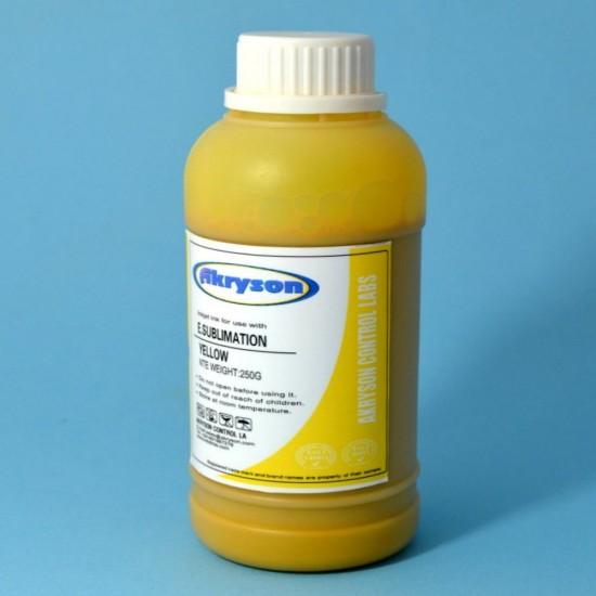 Tinta Sublimación para Ricoh  SG2100N SG3110DN SG7100DN GC41 Amarillo Botella de 250ml