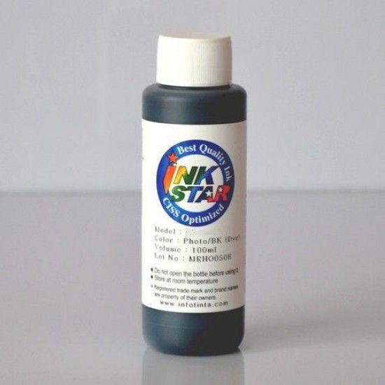 Botella de Tinta para Hp 100ml Negra Pigmentada