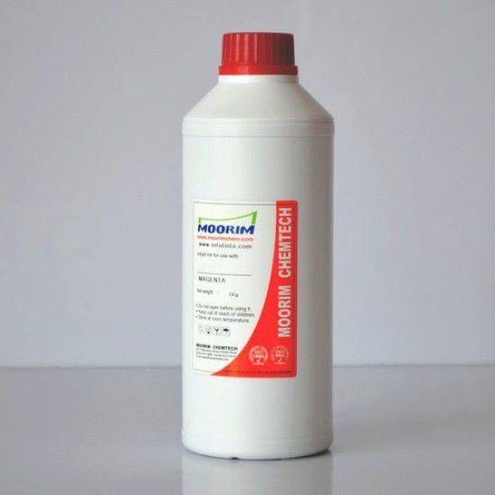 Botella Tinta para Lexmark Recarga Cartuchos Magenta Litro
