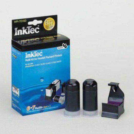 Kit de Recarga Negro para Hp Photosmart B110c Wireless e-AiO