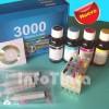 Kit de Reciclado para Cartuchos Impresora Epson D68 DX3850 DX4800 D88