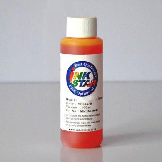 Tinta para Recarga Lexmark Amarillo Botella 100ml