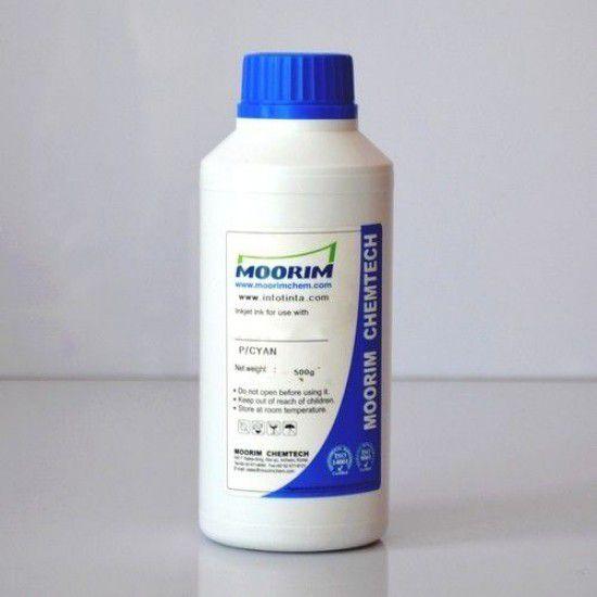 Tinta para Recarga Lexmark Cyan Botella 500ml