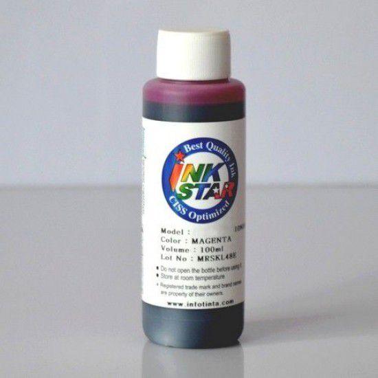 Tinta para Recarga Lexmark Magenta Botella 100ml