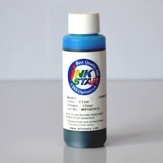 Brother DCP-130C Tinta para Rellenado Cartucho Cyan Botella de 100ml