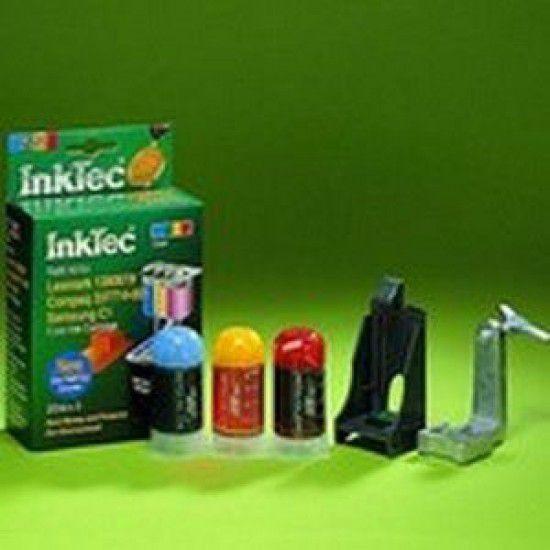 Kit Recarga Tinta para Lexmark 1000 Color