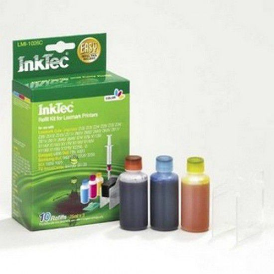 Kit Recarga Tinta para Lexmark Optra Color 40 Color