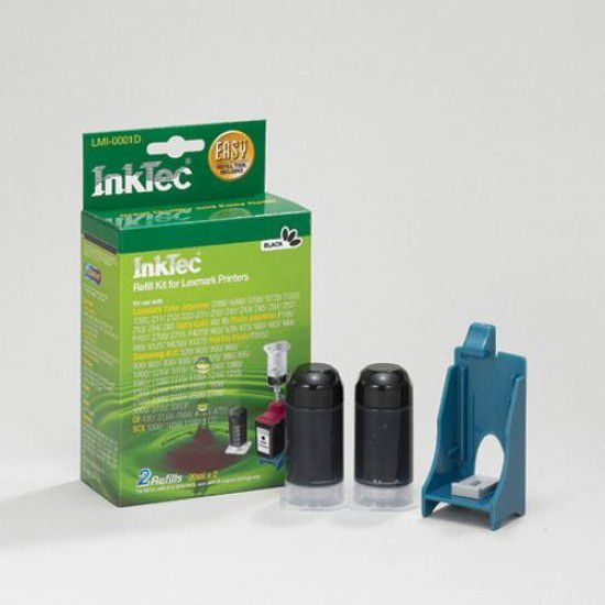 Kit Recarga Tinta para Lexmark P704 Negro