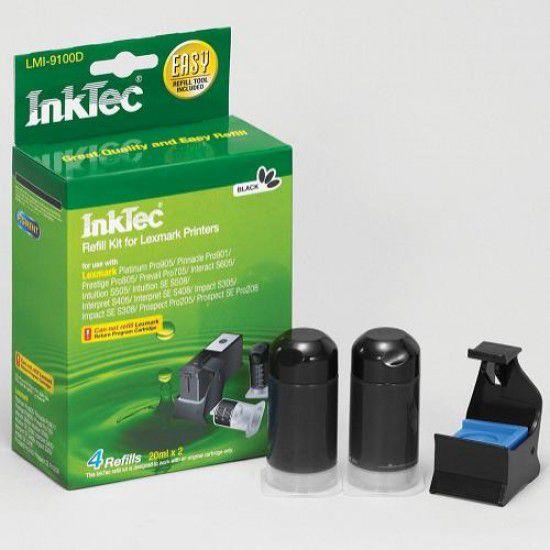 Kit Recarga Tinta para Lexmark Prospect Pro205 Negro