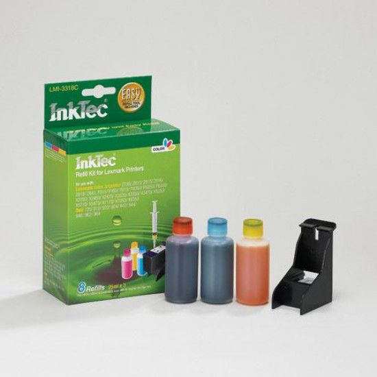Kit Recarga Tinta para Lexmark X2600 Color