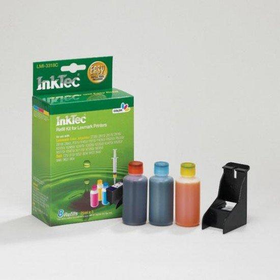 Kit Recarga Tinta para Lexmark Z2320 Color